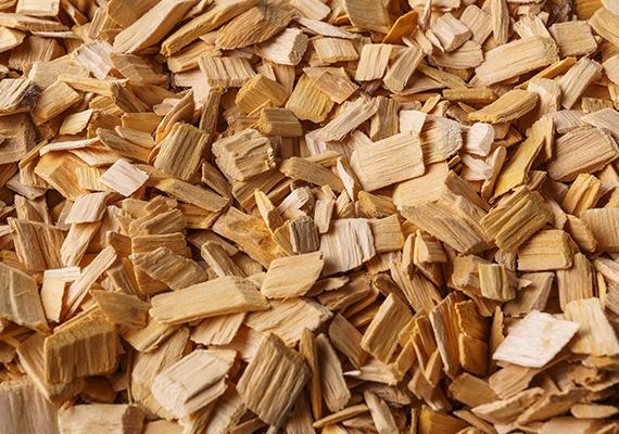 製紙原料木材チップの集荷販売